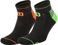 Носки Wilson LC Toe Stripe L&R, 2 пары