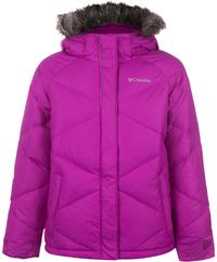 Куртка пуховая для девочек Columbia Mini Lay D