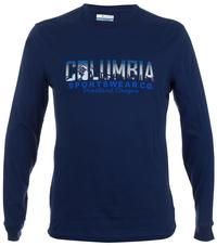 Футболка с длинным рукавом мужская Columbia Natural Horizon