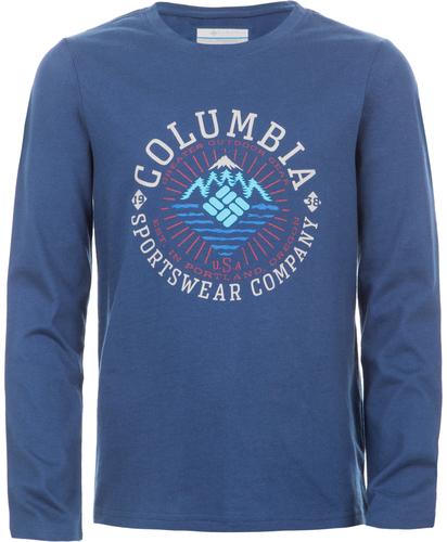Футболка с длинным рукавом для мальчиков Columbia Explore Some More
