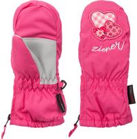 Варежки горнолыжные для девочек Ziener Le Zoo Minis
