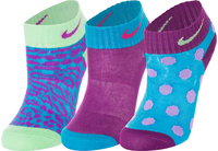 Носки для девочек Nike Graphic, 3 пары