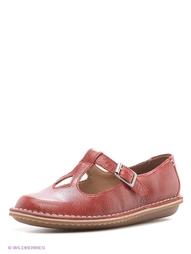 Красные Туфли Clarks