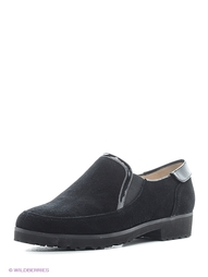 Черные Туфли Moda Donna