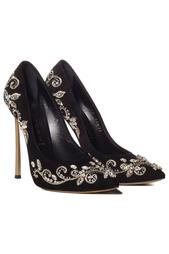 Черные Туфли Casadei