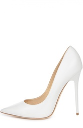 Белые Туфли Anouk на высоком каблуке Jimmy Choo