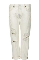 Рваные джинсы-бойфренды Denim&Supply by Ralph Lauren