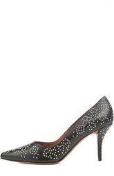 Кожаные туфли лодочки  с заклепками Givenchy