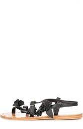 Кожаные сандалии на ремешке Golden Goose