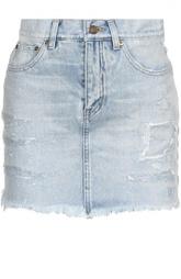 Юбка джинсовая Saint Laurent