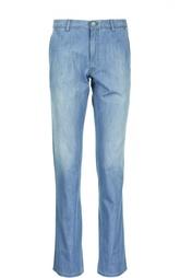 Брюки из джинсовой ткани Brioni