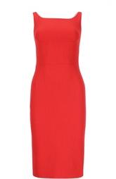 Платье-футляр без рукавов Dolce & Gabbana