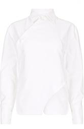 Удлиненная асимметричная блуза прямого кроя Stella McCartney