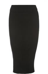 Вязаная юбка-карандаш с рельефной отделкой James Perse