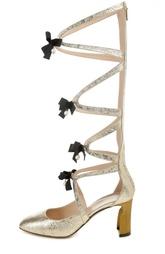 Туфли с высоким голенищем на молнии  Heloise Gucci