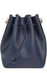 Кожаная сумка на шнурках Sophie Hulme