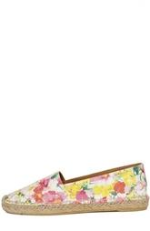 Эспадрильи с цветочным принтом Polo Ralph Lauren