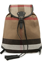 Текстильный рюкзак с кожаной отделкой Chiltern Burberry