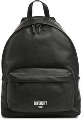 Кожаный рюкзак с карманом Givenchy