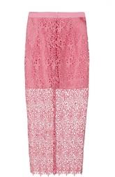 Кружевная юбка-карандаш Ermanno-Ermanno Scervino