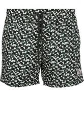 Плавки-шорты с контрастным принтом Moncler
