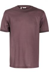 Хлопковая футболка с круглым вырезом Brioni