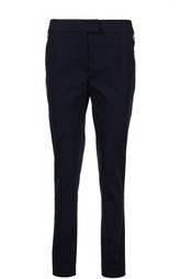 Прямые хлопковые брюки с прорезными карманами Fay
