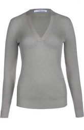Камешировый пуловер с V-образным вырезом Givenchy