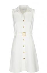 Хлопковое платье-рубашка с поясом Gerard Darel