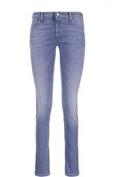Джинсы скинни с потертостями Armani Jeans