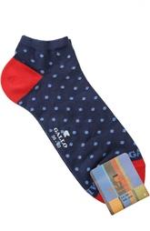 Хлопковые укороченные носки Gallo