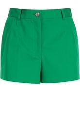Хлопковые мини-шорты с завышенной талией Dolce & Gabbana