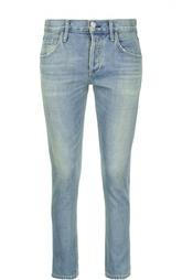 Зауженные джинсы с потертостями Citizens Of Humanity