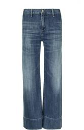 Расклешенные джинсы с потертостями и завышенной талией Citizens Of Humanity