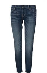 Прямые джинсы с потертостями Denim&Supply by Ralph Lauren