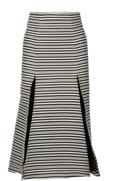 Расклешенная юбка миди с глубокими разрезами Alice McCall