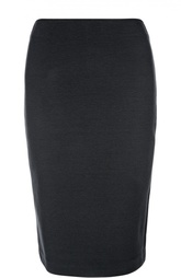 Хлопковая юбка-карандаш Armani Collezioni