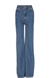 Расклешенные джинсы с завышенной талией Marc Jacobs