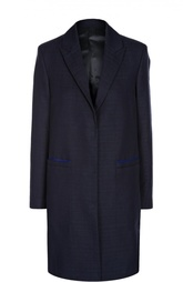 Хлопковое пальто прямого силуэта Acne Studios