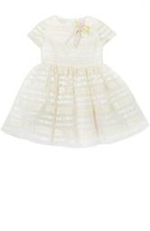 Платье с брошью I Pinco Pallino
