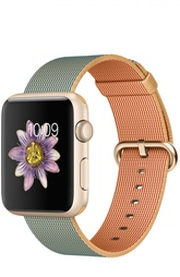 Apple Watch Sport 42mm Gold Aluminum Case with Woven Nylon Apple
