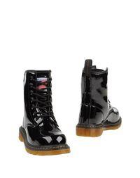 Черные Полусапоги и высокие ботинки Greenwich Polo Club
