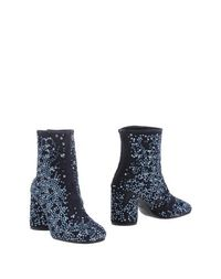 Синие Полусапоги и высокие ботинки Maison Margiela 22