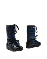 Синие Полусапоги и высокие ботинки Armani Jeans