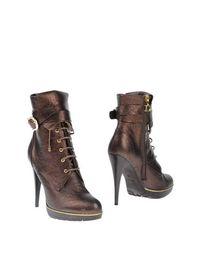 Коричневые Полусапоги и высокие ботинки Dibrera BY Paolo Zanoli