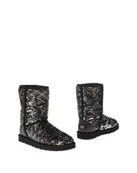 Черные Полусапоги и высокие ботинки UGG Australia