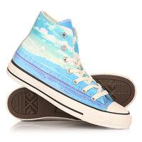 Кеды кроссовки высокие женские Converse Chuck Taylor All Star Hi Spray Paint