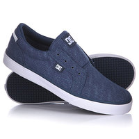Слипоны детские DC Council Slip Youth Blue/White