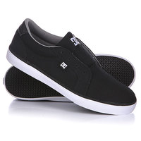 Слипоны детские DC Council Slip Tx Youth Black/Wild Dove
