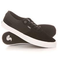Кеды кроссовки низкие DVS Merced Black/White/Suede